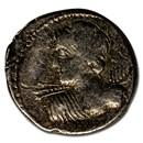 Roman Republic AR Denarius L. Macer (84 BC) VF
