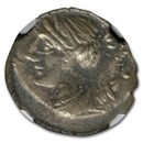 Roman Republic AR Denarius Serratus 79 BC VF NGC (Brockage Error)