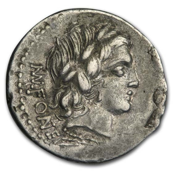 Roman Republic Denarius 85 BC XF