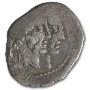 Roman Republic Denarius 88 BC Fine (Adjustment marks)