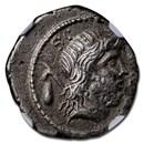 Roman Republic Denarius M. Nonius Sufenas (c. 59/57 BC) VF NGC
