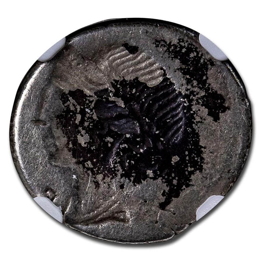 Roman Republic Silver Denarius (114-113 BC) Ch Fine NGC