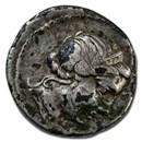 Roman Republic Silver Plated Denarius (81 BC) VF (Fourree)