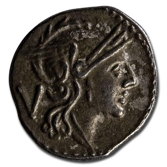 Roman Republic Silver Quinarius (c. 211 BC) VF