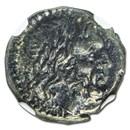 Roman Republic Silver Victoriatus (after 211 BC) AU NGC