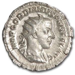 Roman Silver Antoninianus Emp. Gordian III (238-244 AD)