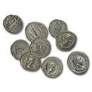 Roman Silver Denarius Random Emperors (44 BC-300 AD) VF-XF