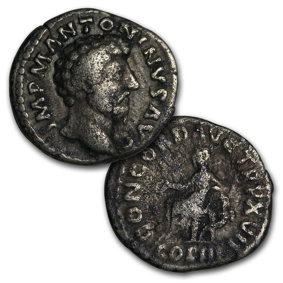 Roman Silver Denarius Random Emperors (69 AD -244 AD) Good-Fine
