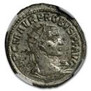 Roman Silvered Bi Aurelianianus Emp. Probus 276-282 AD MS NGC