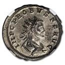 Roman Silvered Bi Aurelianianus Emp. Probus 276-282 AD MS* NGC