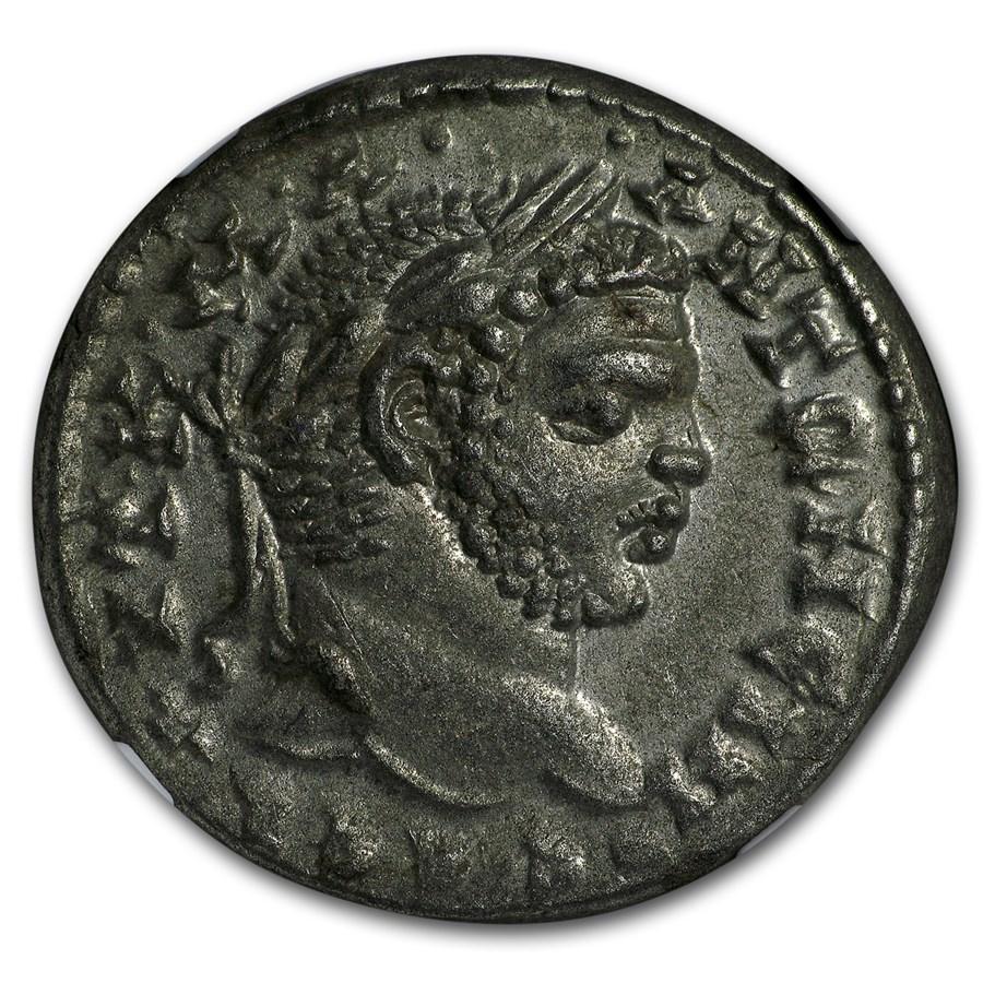 Roman Syria Laodicea Tetradrachm Caracalla (198-217 AD) MS NGC