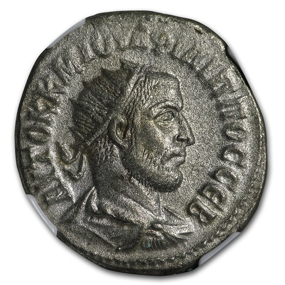 Roman Tetradrachm Emperor Phillip I (244-249 AD) Ch XF NGC