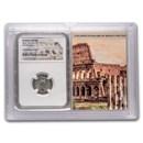 Rome AR Denarius Sept. Sev. (193-211 AD) VF NGC (Colosseum Vault)