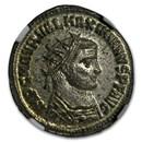 Rome Bi Aurelianianus Emp Maximianu (286-310 AD) MS NGC RIC V 622