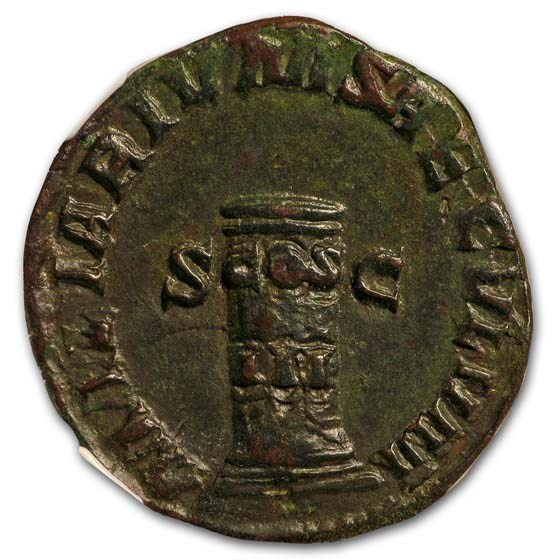 Rome Sestertius Emp. Phillip I Secular Games 244-249 AD Ch VF NGC