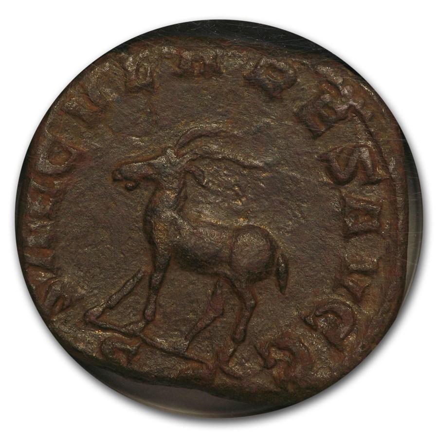 Rome Sestertius Emp. Phillip I Secular Games (244-249 AD) NGC XF