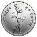 Russia 1/2 oz Palladium Ballerina BU (Random Year)