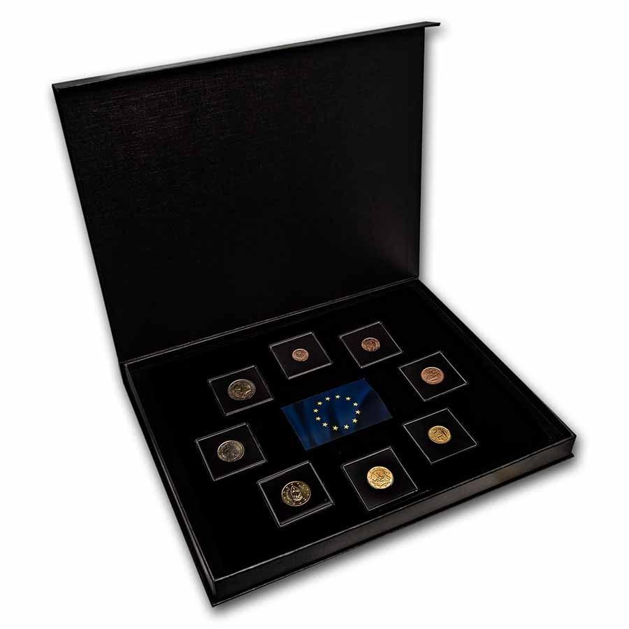 San Marino 1 Cent-2 Euro 8-Coin Euro Set BU