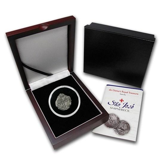 Sao Jose Shipwreck 4 Reales Silver Collection