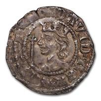 Scotland AR Penny King David II (1357-67 AD) AU-55 PCGS
