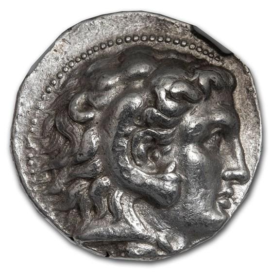 Seleucid Empire AR Tetradrachm Seleucus I (312-281 BC) Ch VF NGC