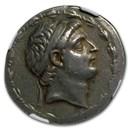 Seleucid Empire Silver Tetradrachm Demetrius I (162-150 BC) Ch VF