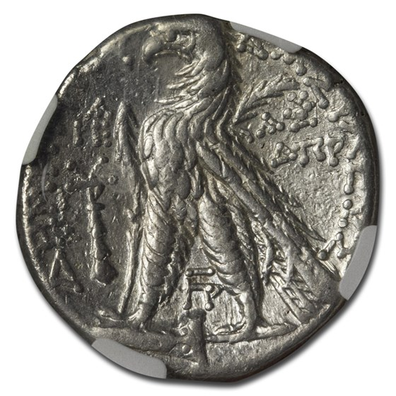 Seleucid Kingdom AR Tetradrachm Demetrius II 129-25 BC Ch VF NGC