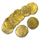 Seljuk Sultanate Pale Gold Dinar (1072-1092 AD) VF (Crusades)