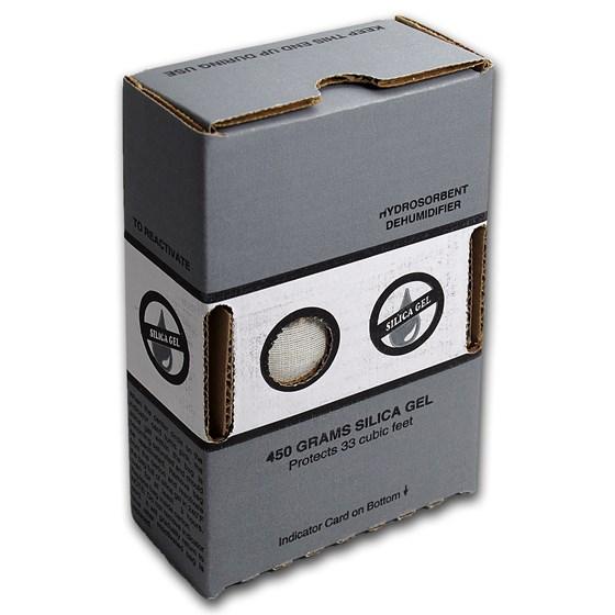 Silica Gel - Dehumidifier Crystals (450 Gram Desiccant Box)