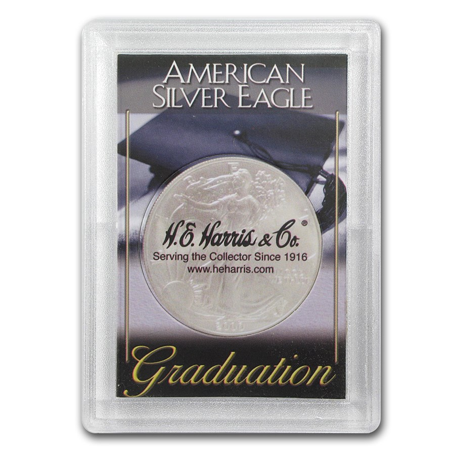 Silver American Eagle Harris Holder (Graduation Design)