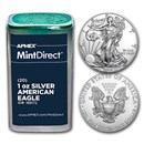 Silver American Eagles (Random Year, 20-Coin MintDirect® Tube)