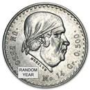 Silver Mexican 1 Peso Morelos (1947-1949) Avg Circ