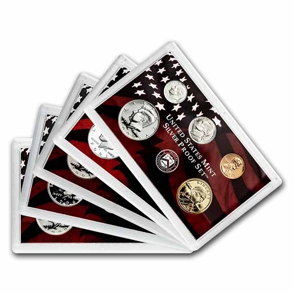 Silver Proof Set (Random Year, Plastic Only)