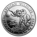 Somalia 1 oz Silver Elephant (Random Year)