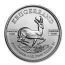 South Africa 1 oz Silver Krugerrand (Random)