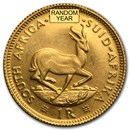 South Africa Gold 1 Rand BU (Random)
