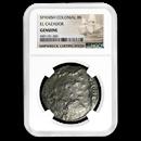 Spain Silver 8 Reales (El Cazador Shipwreck) Low Grade NGC