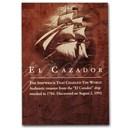 Spainish Empire Silver 1/2 Real (El Cazador) w/COA