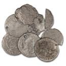 "Spanish Empire Silver 1 Real Bust Type ""El Cazador"" (w/COA)"