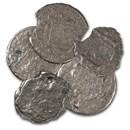 """Spanish Empire Silver 2 Reales Bust Type """"El Cazador"""" (w/COA)"""