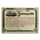 Standard Oil Trust (Signed by Henry M. Flagler - Circa 1890's)