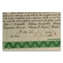 Standard Oil Trust signed by Henry M. Flagler