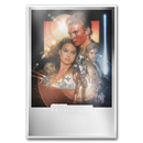 Star Wars (Attack of the Clones) - $2 Silver Foil Poster