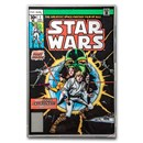 Star Wars Comic #1 April 1977 - 35 Gram Silver Poster