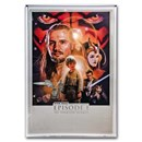Star Wars (The Phantom Menace) - $2 Silver Foil Poster