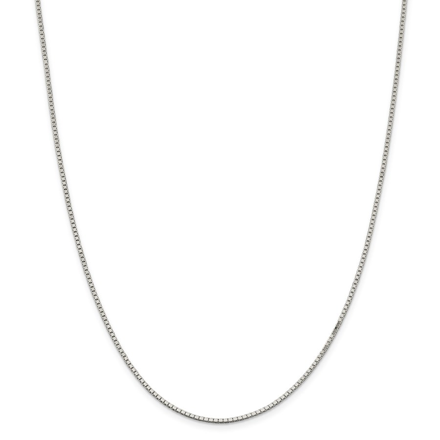 Sterling Silver 1.5 mm Box Chain - 20 in.