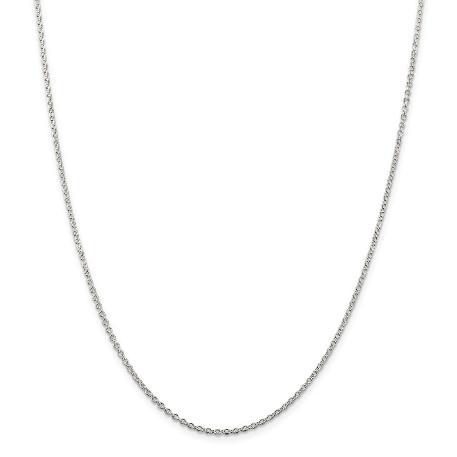 Sterling Silver 1.95 mm Cable Chain - 30 in.