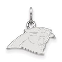 Sterling Silver Carolina Panthers XS Pendant