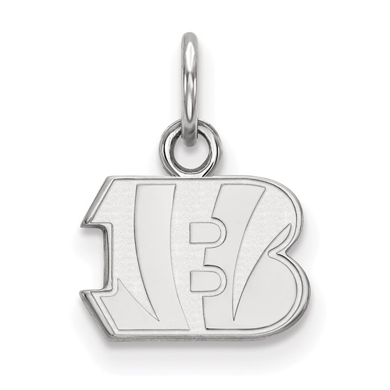 Sterling Silver Cincinnati Bengals XS Pendant