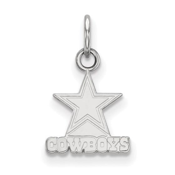 Sterling Silver Dallas Cowboys XS Pendant